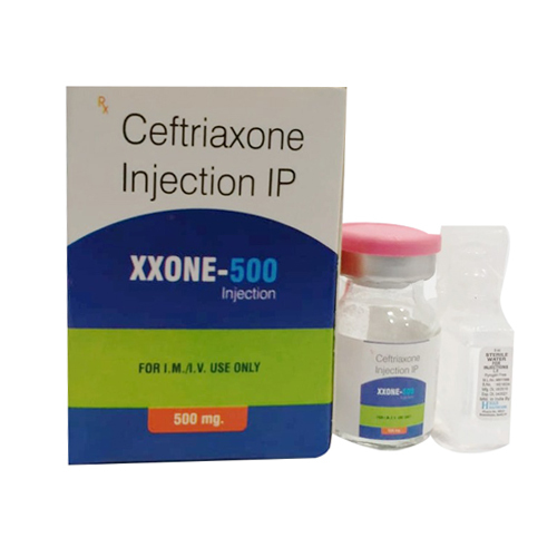 500mg Ceftriaxone Injection IP