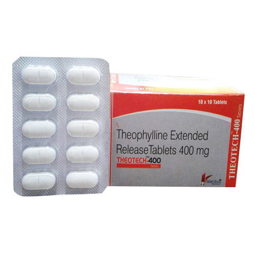 400mg Theophylline Extended Release Tablets