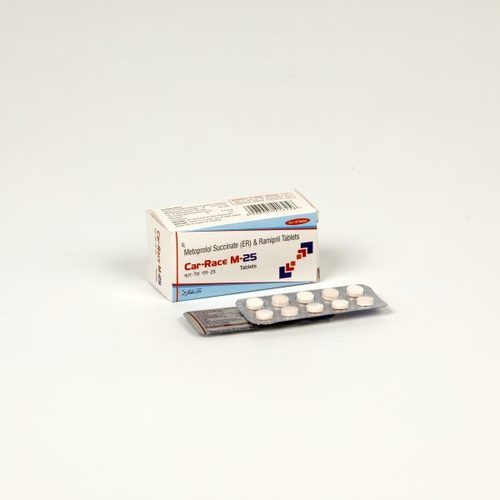 Ramipril 2.5 MG + Metoprolol 25 MG