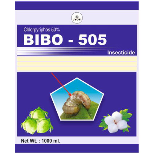 Chlorpyriphos 50% Insecticide