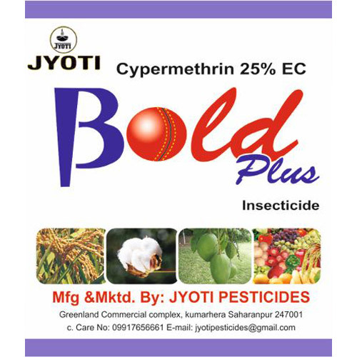 Cypermethrin 25% EC Insecticide