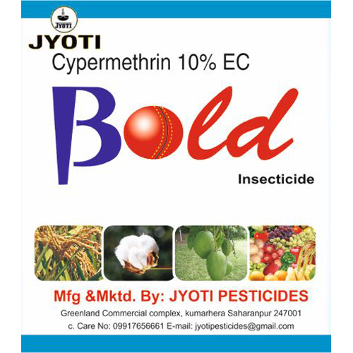 Cypermethrin 10% EC Insecticide