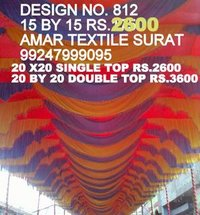 Pandaal ceiling draping