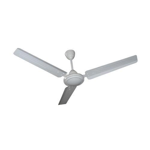 Plain White Ceiling Fan