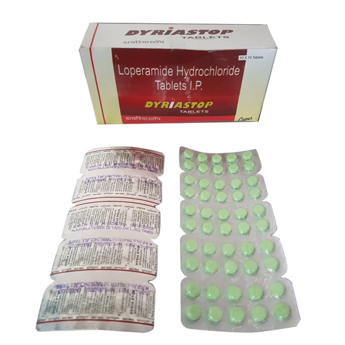 Loperamide Hydrochloride Tablet I P