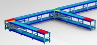 Industrial Roller Conveyor