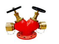 Double Outlet hydrant Valve