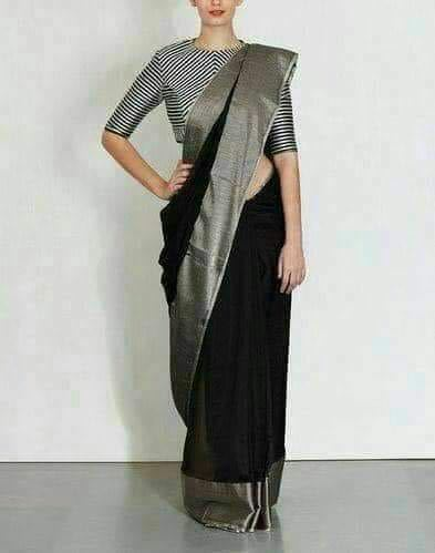 Party Wear Ladies Linen Saree