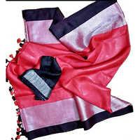 Red Handloom Sarees