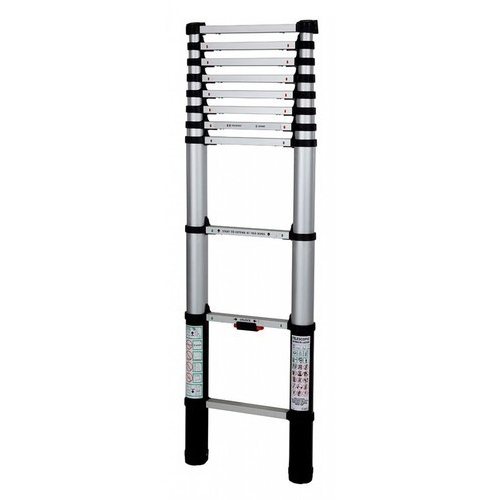Aluminum Black Telescopic Ladder
