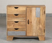 Cabinet Mango 4 Drawer 1 Door