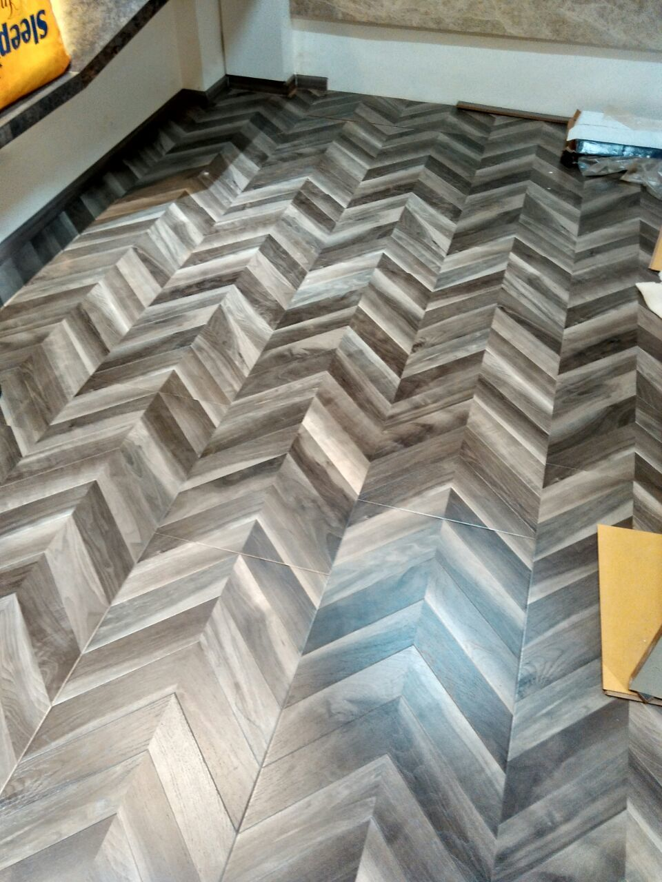Fishbone Wooden Flooring