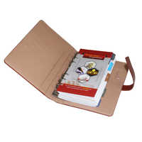 Brown Leather Planners