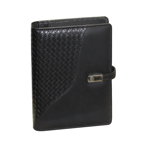Leather A6 Black Diary