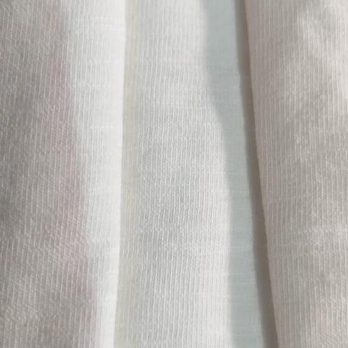 Cotton Slub Lycra Single Jersey Fabric
