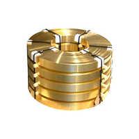 Brass Metal Strips