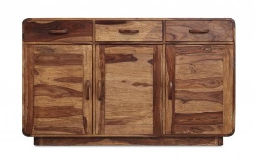 Sheesham Side Board 2 Drawer 3 Door