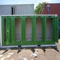 Light Weight Portable Toilet Cabin