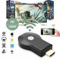 AnyCast USB WiFi Adaptors/Dongle with HDMI-USB Output Combo Pack for All LCD LED Smart TV Full HD TV Stick/WiFi HDMI Dongle & Wireless/Compatible with All Smartphone