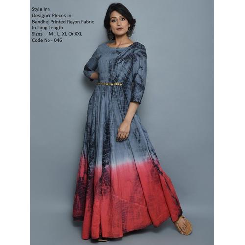 Ladies Print Designer Kurti