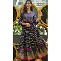 Ladies Casual Wear Anarkali Kurti