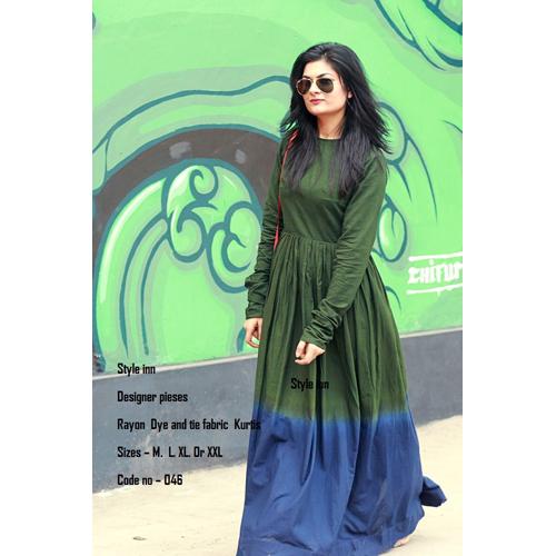 Ladies Floor Length Designer Kurti