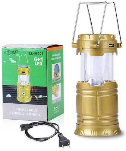 Solar Powered LED Rechargeable Lantern
