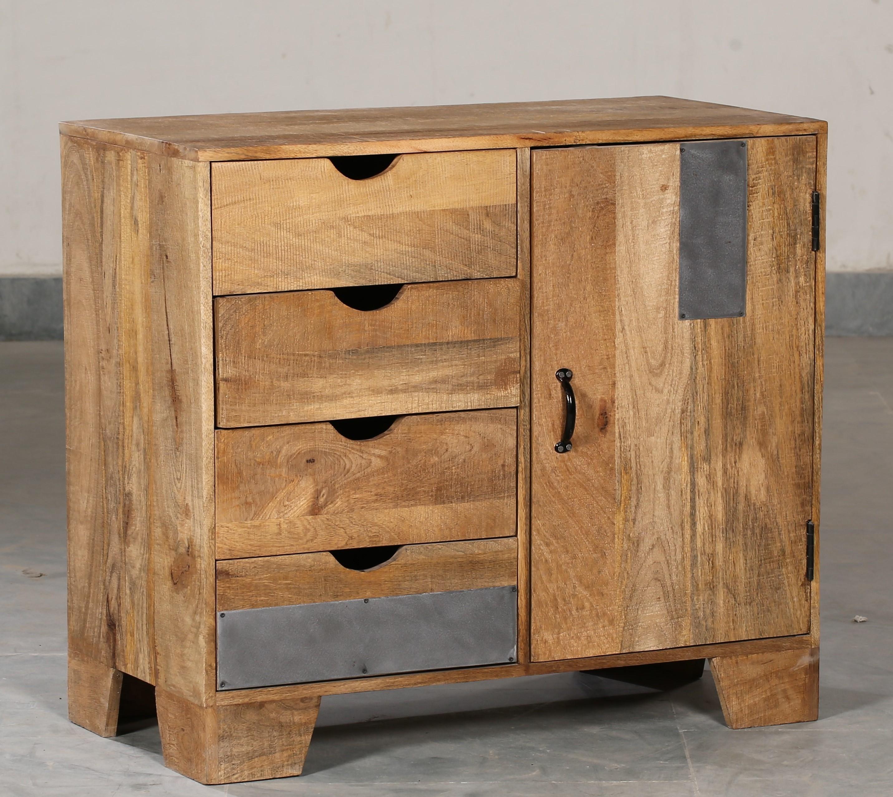 Cabinet Mango 4 Drawer 1 Door