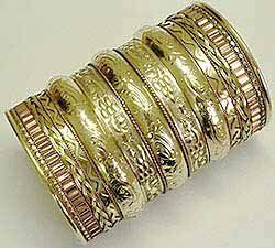 Brass long cuff