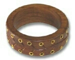 Wooden ilet bangle