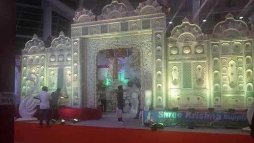 Reception Wedding Stage Decoration