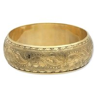 brass designed bangle