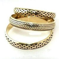 Brass bangle sets