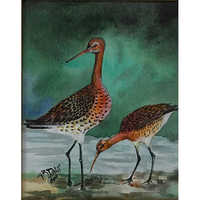 Antique WildLife Painting