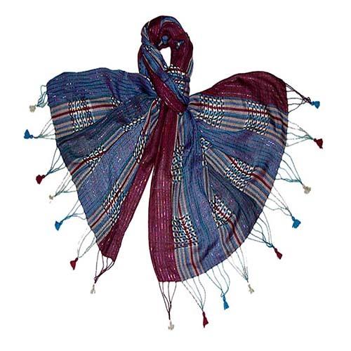 Ladies Stripe Shawl