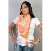 Ladies Printed Square Scarf