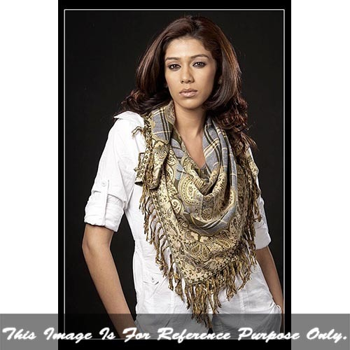 Ladies jacquard Scarf