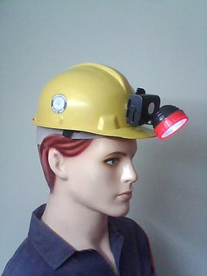 Helmet with Rechargeable light
