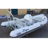 Liya 2.7 -8.3m Rib Aluminum Hull Inflatable Boats Sports Water Fishing Boats For Sale