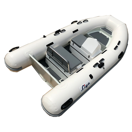 Liya Small Rib Aluminum Hull Basic Boat Open Deck Fishing Boats For Sale