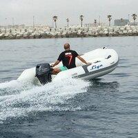 2.4 -2.7M Open Floor RIB (Fiberglass hull)