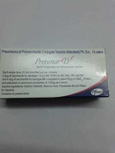 Pneumococcal Polysaccharide Conjugate Vaccine