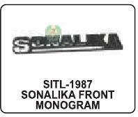 Sonalika Front Monogram