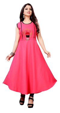 HANDWORK WITH DESIGNER KURTI