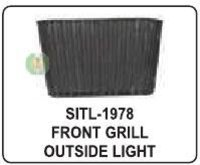 Front Grill Outside Light