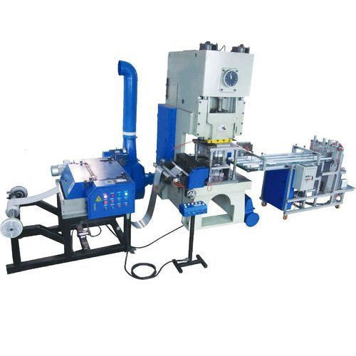 Automatic Silver Coated Paper Plate Making Machine