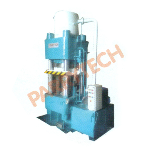 4 Pillar Type Hydraulic Embossing Press