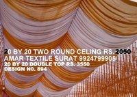Pandal ceiling zumbar fabric