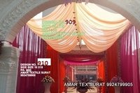 Ceiling designs for wedding stage receptions