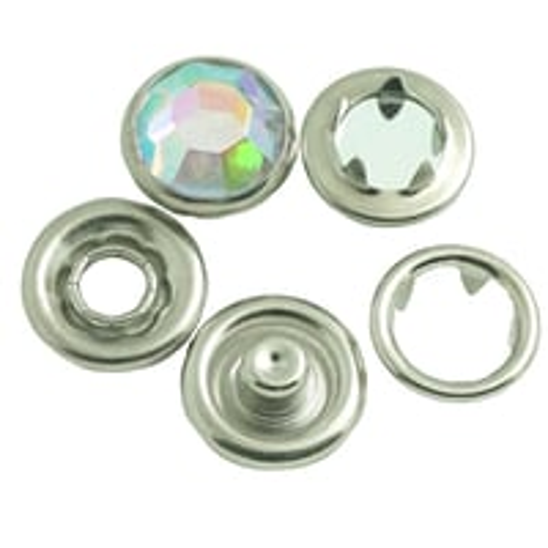 Acrylic Custom Metal Snap Button